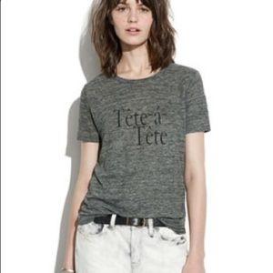 Madewell T-shirt tete-a tete